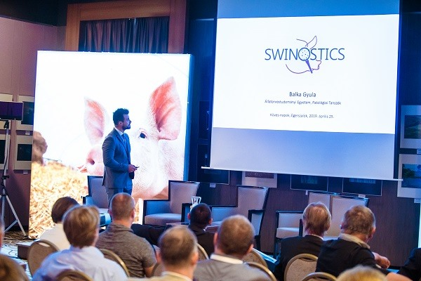 SWINOSTICS presented in the biggest Hungarian swine veterinarian conference