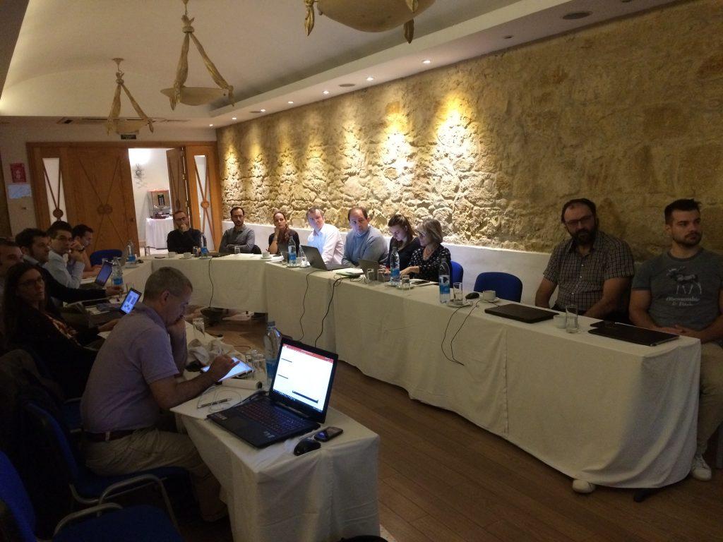 Kick-off meeting in Cyprus